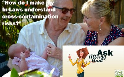 Ask Allergy Aunt: How do I make my In-Laws understand cross-contamination risks?