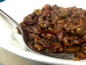 Roast Lamb Leftovers Risotto: so quick, easy and absolutely scrummy!