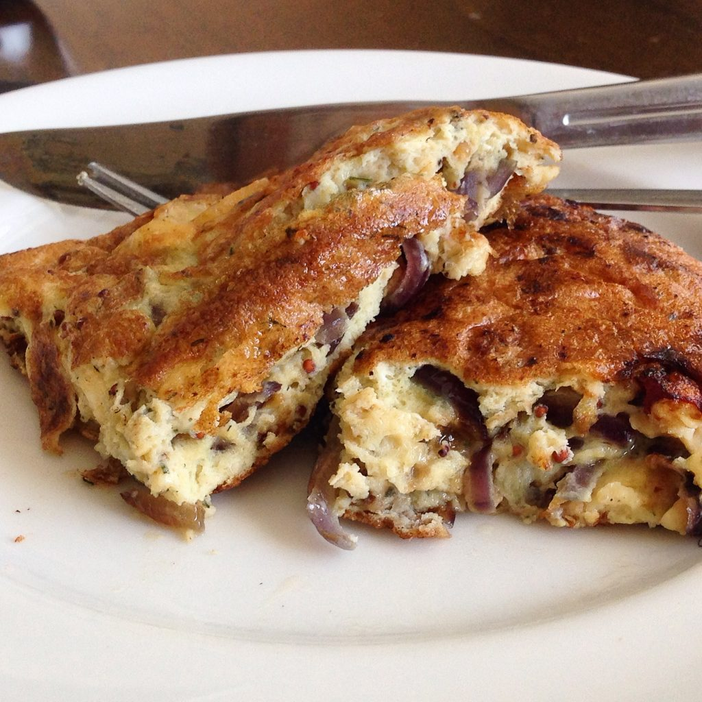 Red onion and Cheese omelette recipe gluten free paleo nut free