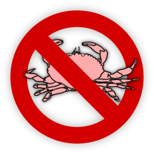 no shellfish